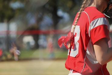I got into this mood where I liked to take faceless pictures of athletes to show their numbers.